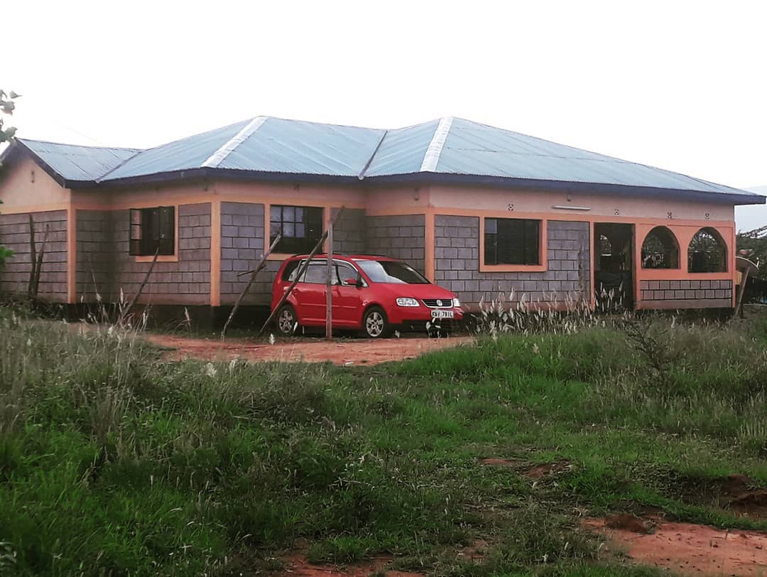 Nyota Ndogo's new bungalow