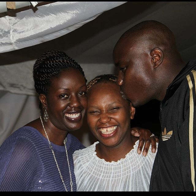 Rosemary Odinga with her late brother Fidel Odinga and their cousin Carol Radull