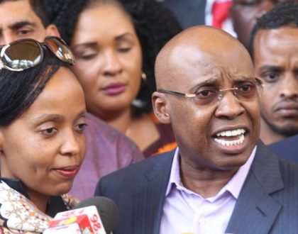 """""""You think giving birth is eating bread and butter"""" Kenyans shameTycoon Jimi Wanjigi for asking themgive birth to many children"""