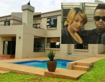 """""""Nilitumia akili zangu kununuliwa nyumba"""" Zari reveals why she will not vacate Diamond's house in South Africa"""