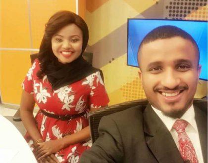K24 news anchorAhmed Bhalo bereaved