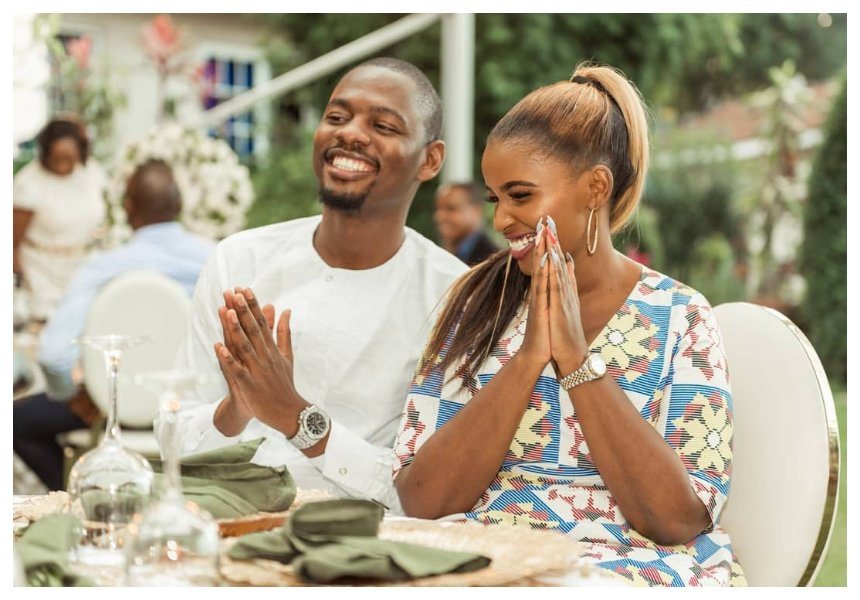 Anerlisa Muigai introduces her soon-to-be husband Ben Pol to her parents (Photos)
