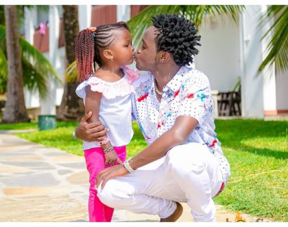 Bahati's baby mama reveals whether or not the singer gives enough support for his daughter, Mueni