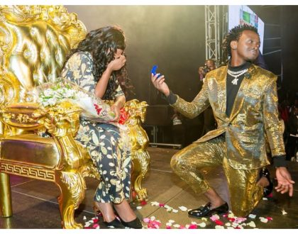 Bahati admits to spending Ksh 270,000 on engagement ring