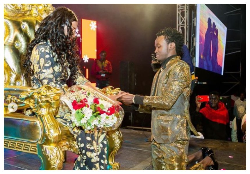 Bahati: It is funny how some people make fun out of my marriage proposal