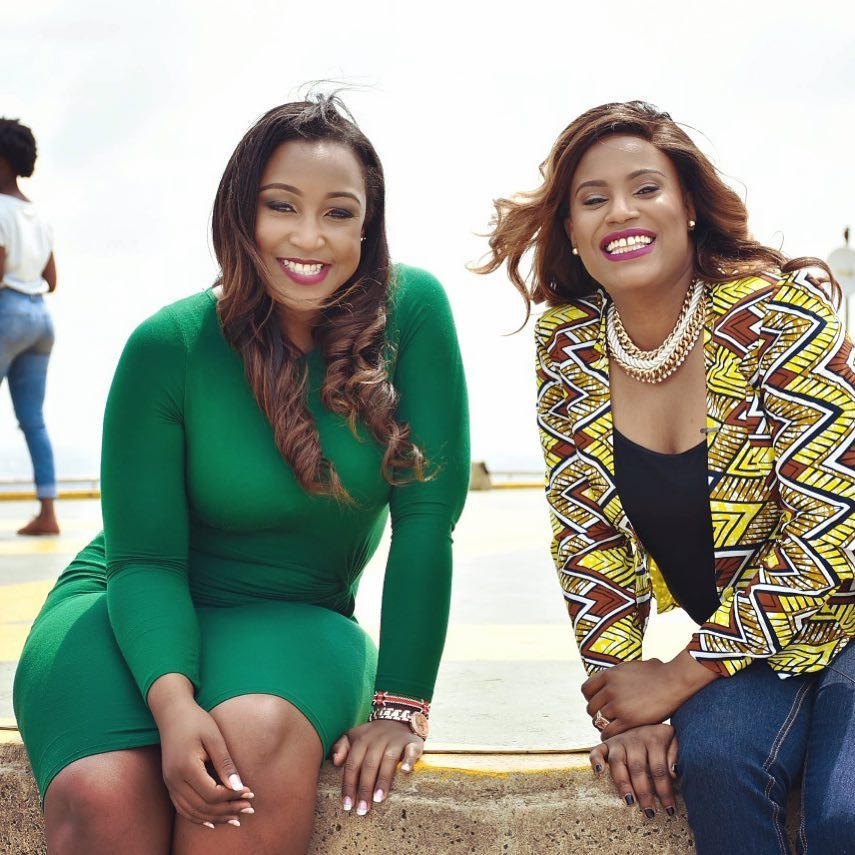 Nana Gecaga and Betty Kyallo