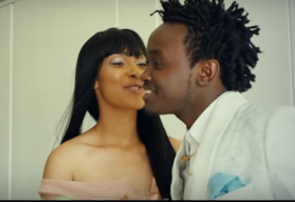 Watch: Bahati using hot video vixen in new song bring mixed reaction
