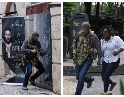 Another hero to celebrate! Photos of loneBritish special forces soldier who stormed into DusitD2 hotel and saved countless Kenyans