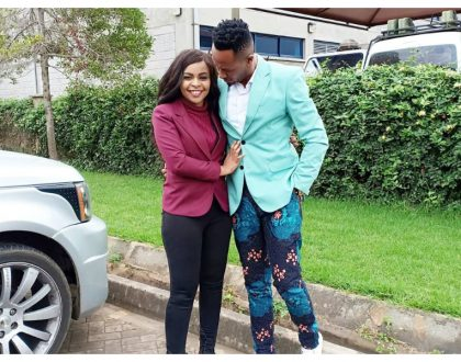 Size 8's beautiful message toDJ Mo as he celebrates his birthday