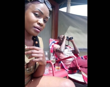 """Sijui kama ni mashetani zinamsumbua"" Dennis Oliech's ex, Paula addresses break up"