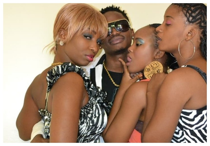 TBT ya nguvu! When Diamond was mobbed by four women - Elizabeth Michael Lulu, Wolper, Shilole and Aunt Ezekiel (Photos)
