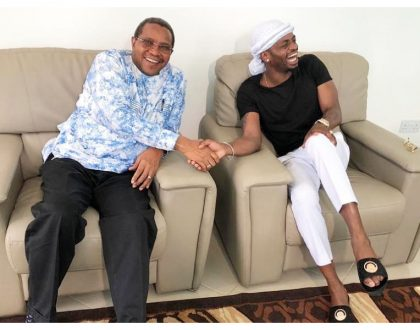 """He warned me about many things"" Diamond reveals finer details of his meeting with ex President Jakaya Kikwete"