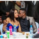"Diamond Platnumz and Tanasha Donna Oketch kiss 150x150 - ""How did I ever get so lucky!"" Tanasha Donna's special message to Diamond Platnumz"