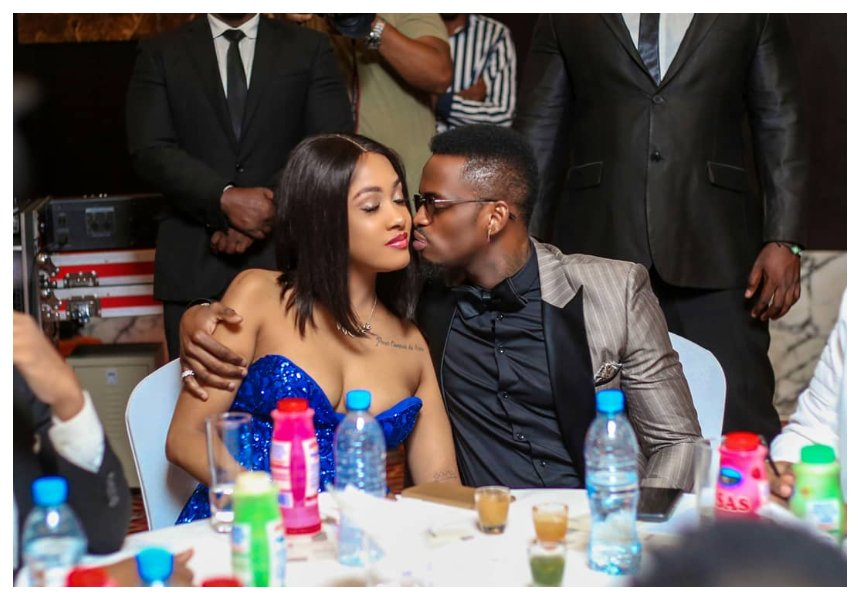 Wewe! Don't try and impregnate Tanasha before marrying her- Tanasha's family warns Diamond
