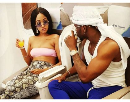 """I will not cheat on you"" Diamond publicly assures Tanasha Donna he will be faithful to her"