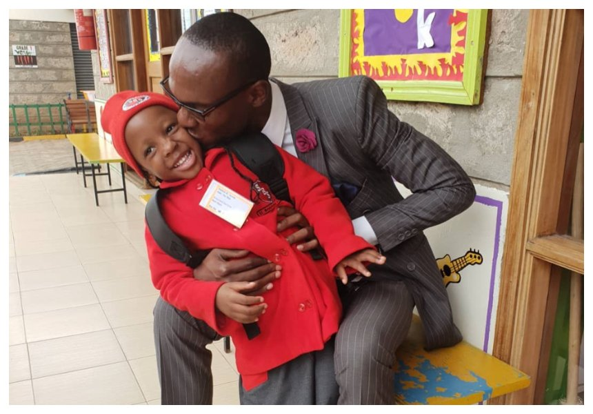 """You are the best Ex and the best baby daddy ever"" Nicah showers ex husband Dr Ofweneke with praise"
