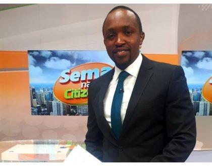 Citizen TV Hassan Mugambi explains circumstances that led him to slap his colleagues DusitD2 complex