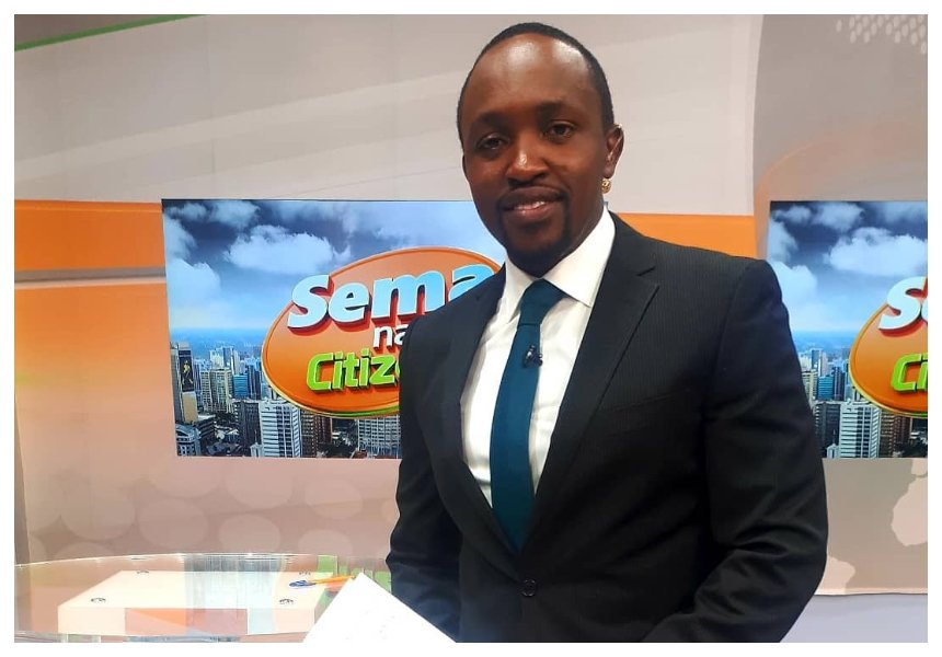Citizen TV Hassan Mugambi explains  circumstances that led him to slap his colleagues DusitD2 complex