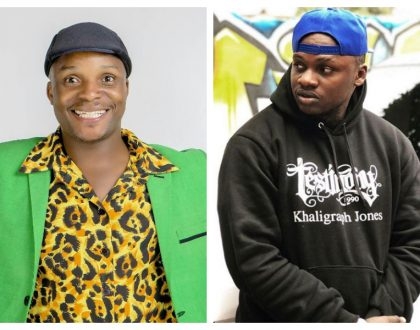 """If you are still depending on Radio and TV to make you big then you're nothing"" Jalang'o fires at Khaligraph Jones"
