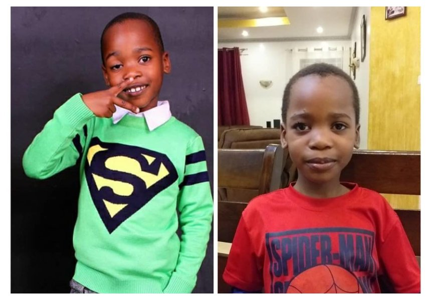 Jua Cali's son healed of eye condition 'Ptosis' after a successful surgery (Photos)
