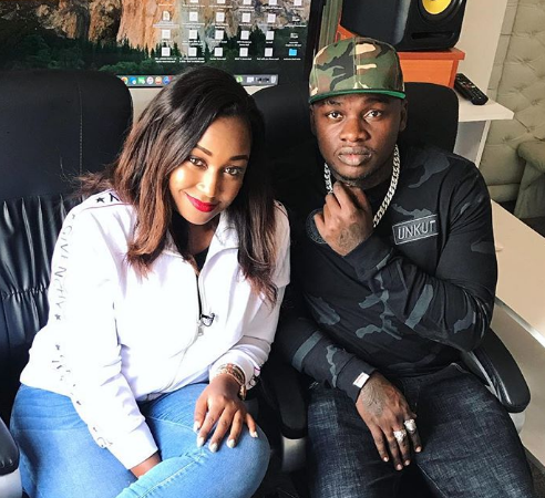 "Betty Kyalo after ""Nitakupiga Miti"" video: I can't date Khaligraph Jones"
