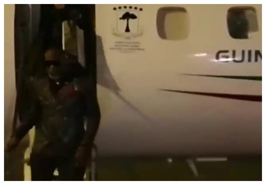 Lanes! Equatorial Guinea president dispatches his private jet to fetch Koffi Olomide to perform for him (Photos+video)