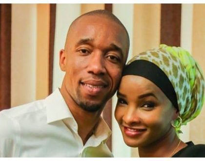 The downside of couples working together... Lulu Hassan speaks of her fears