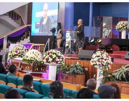 First LadyMargaret Kenyatta eulogizes late Bruce Odhiambo asa trailblazer during requiem mass in Nairobi (Photos)