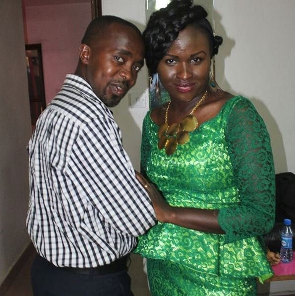 Mercy Masika with her husband David Muguro