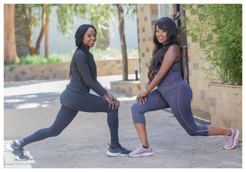 Lilian Muli back to working out after doctor's green light
