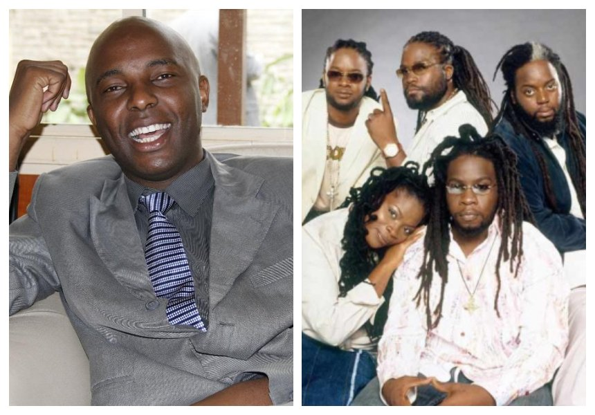 Morgan Heritage responds after they are informed that Murang'a senator named his son after the group