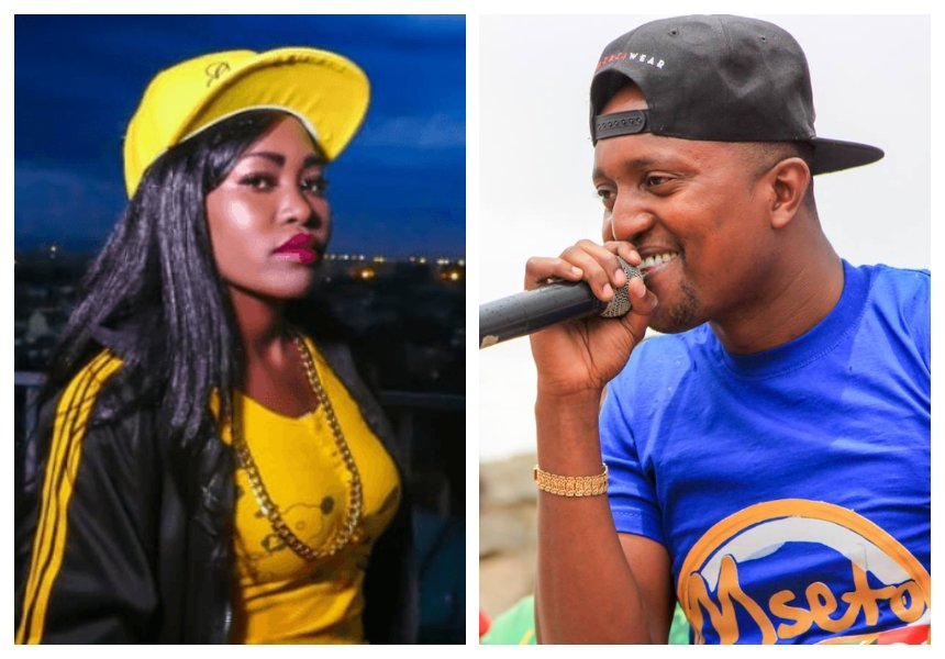 """Please tosheka na wako"" Msupa S calls out Mzazi Willy M Tuva for hitting on her"