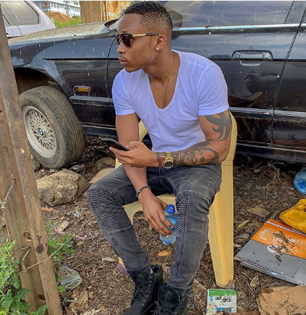 Otile Brown takes a swipe at Vera Sidika after she claimed he's behind news her parlor is dead