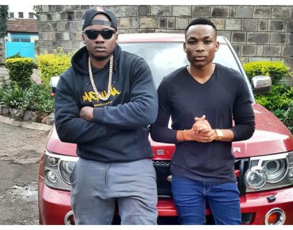 Otile Brown takes a swipe at Khaligraph Jones for blaming Kenyan presenters for his failures