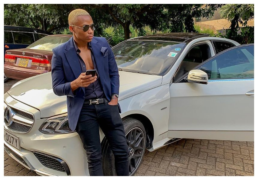 """Muziki unalipa fanya muziki mzuri"" Otile Brown sends message to fellow musicians as he gifts himself another Mercedes"