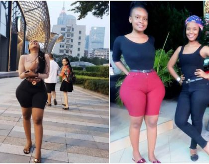 They're all real! Extra curvy socialite Poshy Queen denies she went to China for hips enlargement(photos)