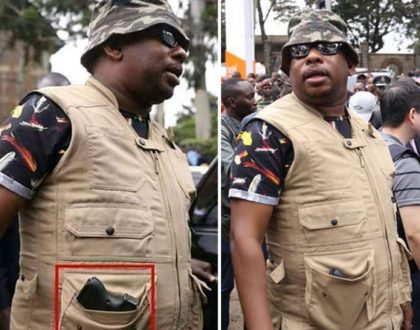 """""""That was just a power-bank"""" Sonko's team on the spot for giving 'dubious' explanation of Sonko brandishing gun"""