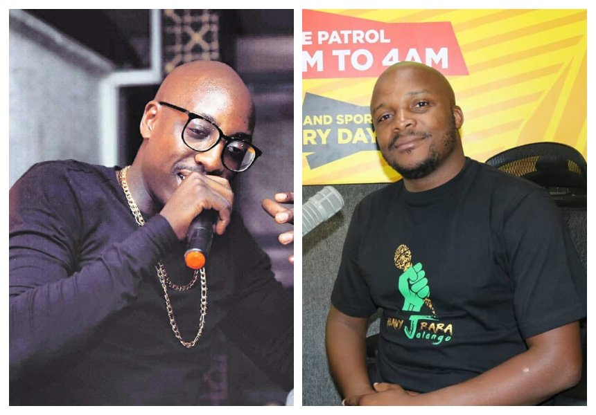 """""""Instead of asking us to play Kenyan music be the mentors"""" Jalang'o tells Sauti Sol to share their secret with other musicians"""