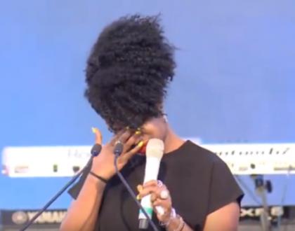 Talia Oyando breaks down during Bruce Odhiamborequiem mass:I remember when I lost my job, he fed me every single day