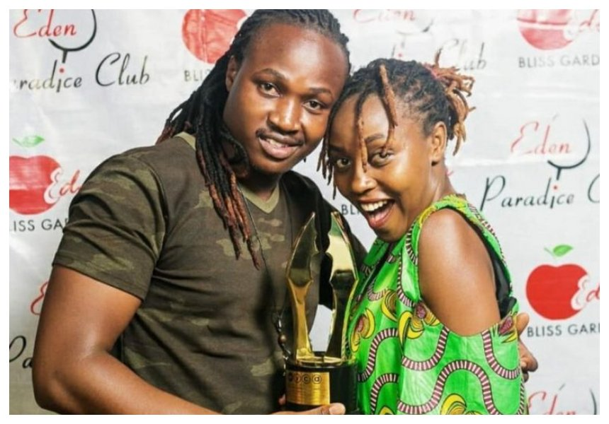 Actress Nyce Wanjeri denies claims her husband ungraciously dumped her because of competition