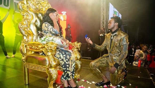 Another one! Bahati to marry Diana Marau for a second time in big wedding