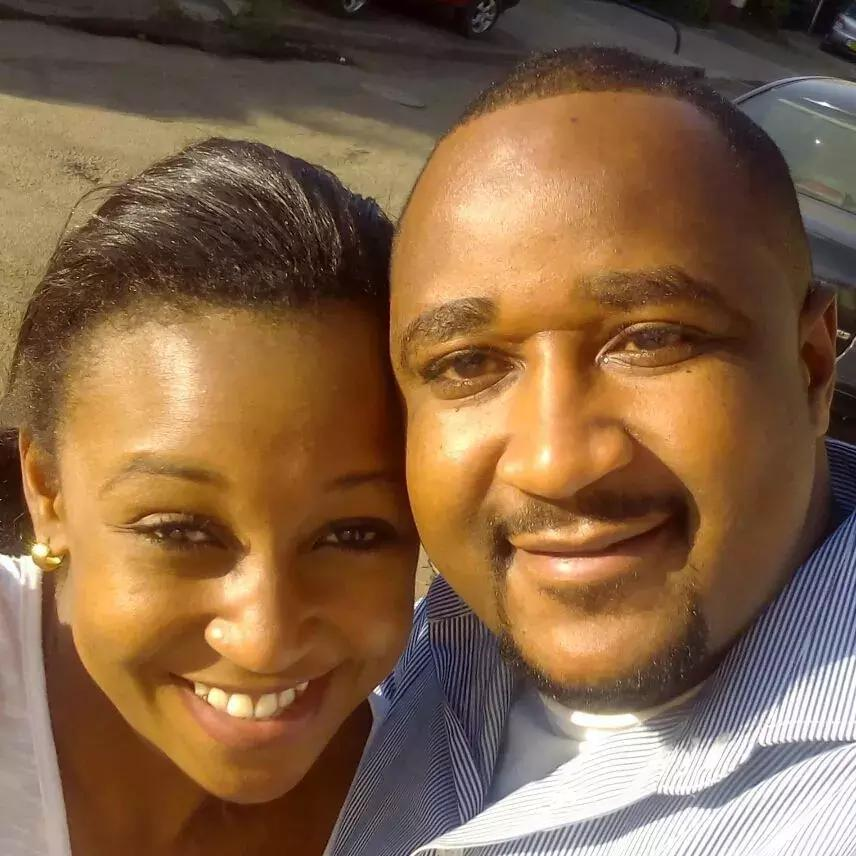 Betty Kyallo and her brother Brian