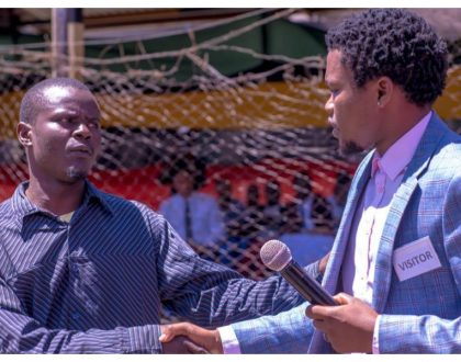 Philanthropic Chipukeezy pays bail for Ohangla musician who was wasting away in Industrial Area Prison
