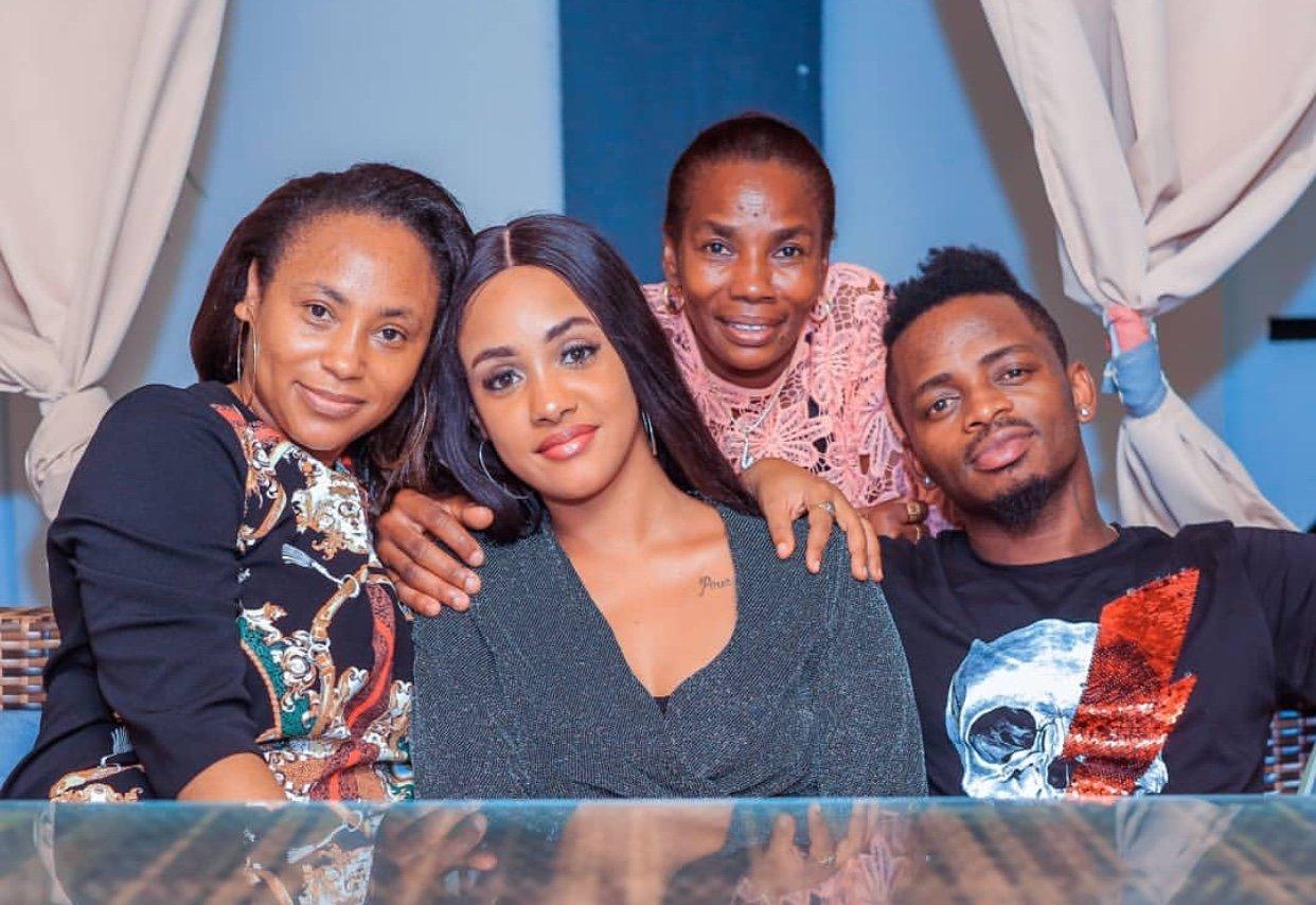 Tanasha with Diamond, Esma Platnumz and Sanura Sandra