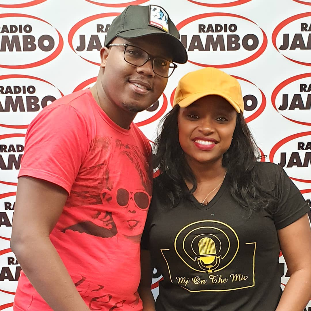 Abel Mutua and Massawe Japanni