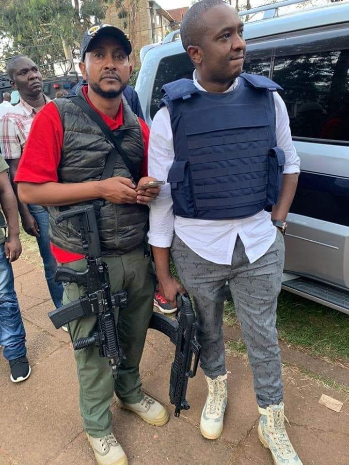 Steve Mbogo at Dusit D2 Hotel