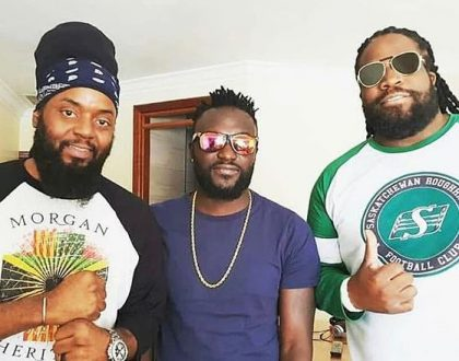 Naiboi lands collabo with Morgan Heritage after impressing during Diamond's show