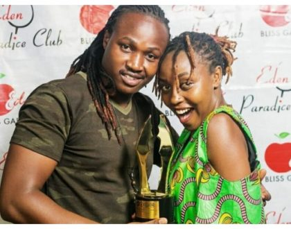 And the drama continues... Actress Nyce Wanjeri's ex husband reveals she has a history of running away with household items