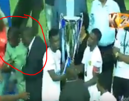 Video shows Raila almost collapsed in Tanzania during Sportpesa cup