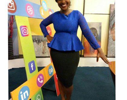 News anchorZindzi Kibiku blastslawyer Ahmednassir for claiming Kenyan TV ladies are picked according to booty and beauty